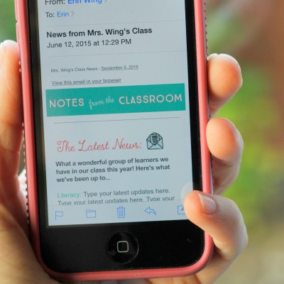 Classroom Newsletters and MailChimp